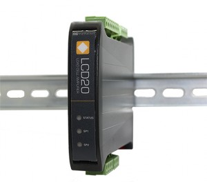 LCD20 DIN Rail Load Cell Amplifier with Relays